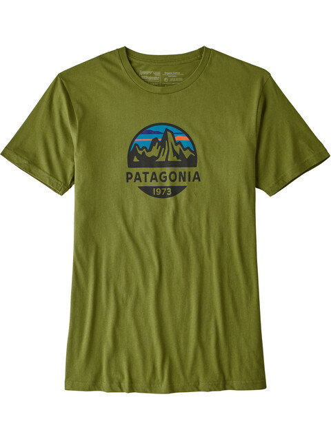 Patagonia Fitz Roy Scope Organic - T-shirt manches courtes Homme - olive